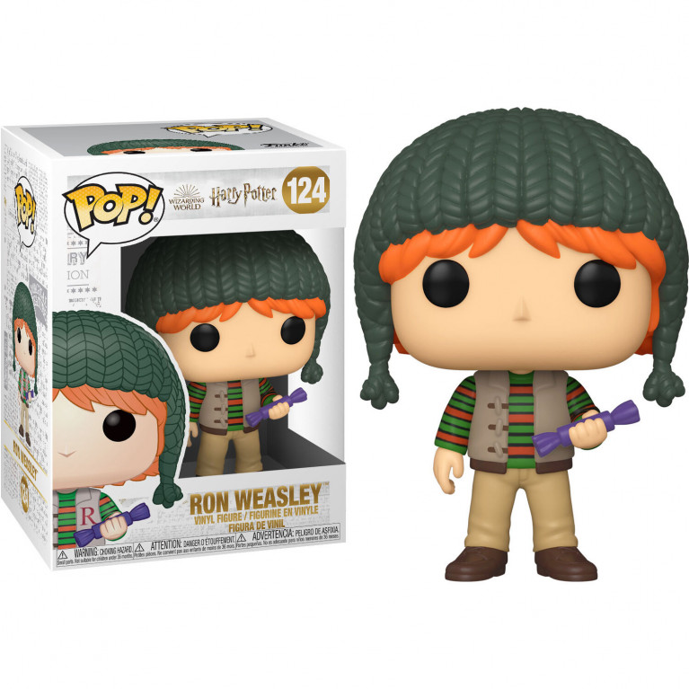Рон в шапке Funko POP (Ron Holiday)
