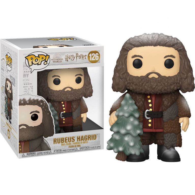Хагрид с елкой Funko POP 6 inch (Hagrid Holiday)