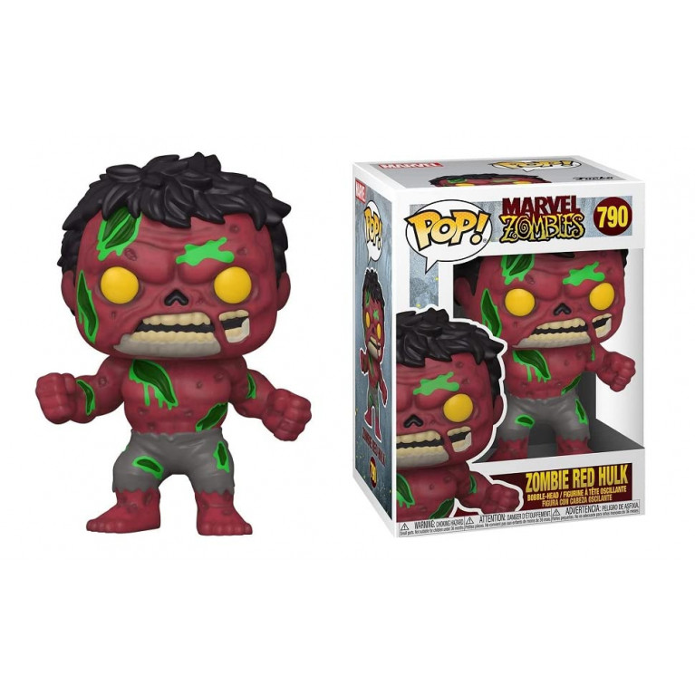 Зомби Красный Халк Funko POP (Zombie Red Hulk)