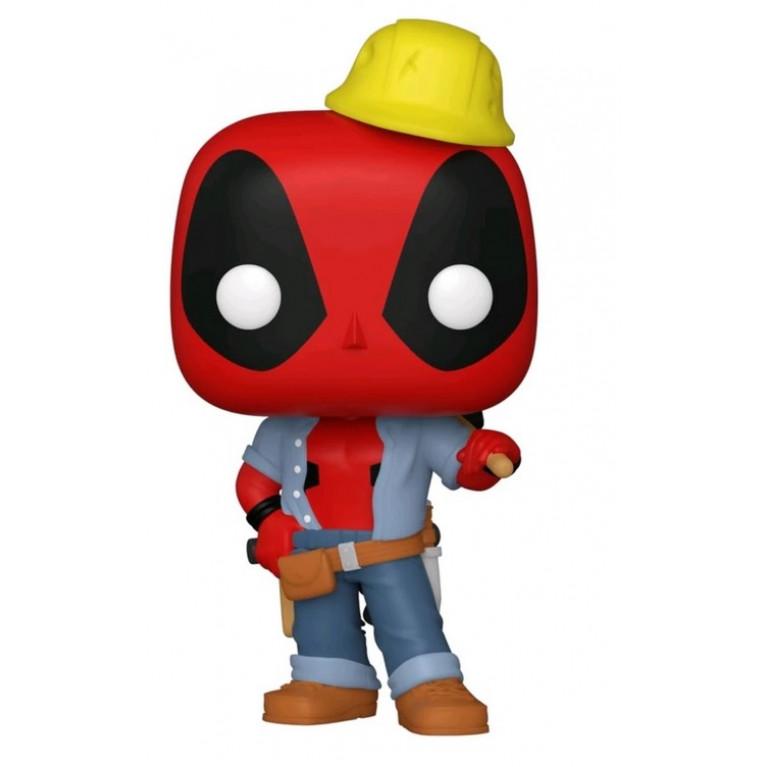Дэдпул строитель Funko POP (Deadpool 30th Construction Worker)