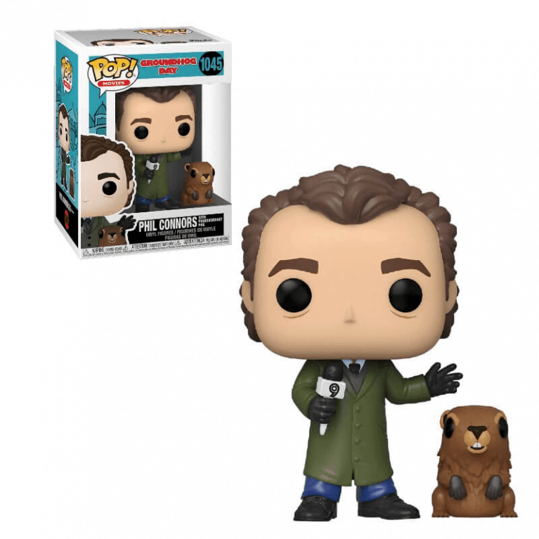 Фил Коннорс День Сурка Funko POP (Phil with Punxsutawney Phil)