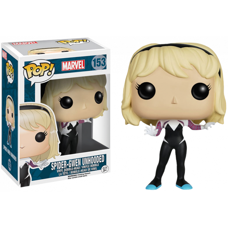 Спайдер Гвен без капюшона Funko POP (Spider-Gwen Unhooded)