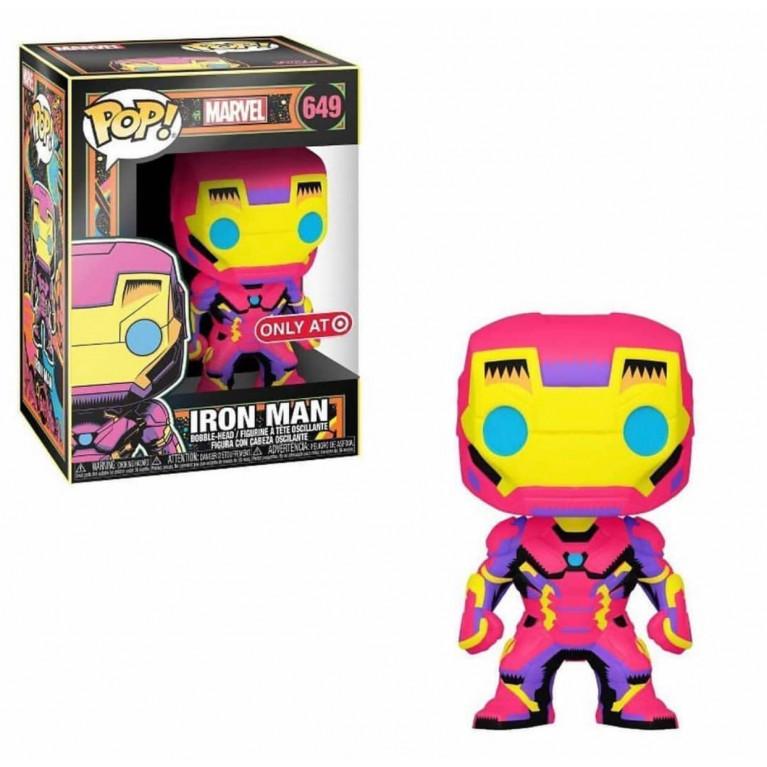 Железный Человек Black Light Funko POP (Iron Man Black Light) — Эксклюзив